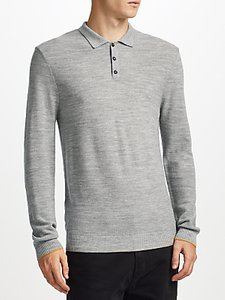 Read more about Kin by john lewis merino pique long sleeve polo