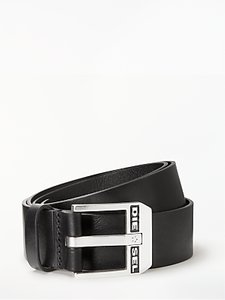 Read more about Diesel bluestar cintura leather belt black