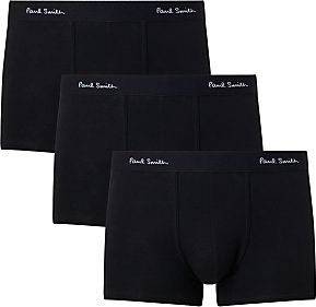 Read more about Paul smith stretch cotton trunks pack of 3 black