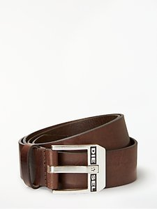 Read more about Diesel bluestar cintura leather belt brown