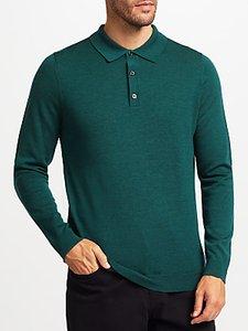 Read more about John lewis merino wool long sleeve polo shirt