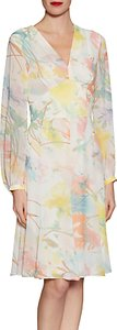 Read more about Gina bacconi watercolour floral print chiffon dress multi