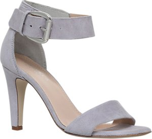 Read more about Carvela kitty cone heeled sandals grey