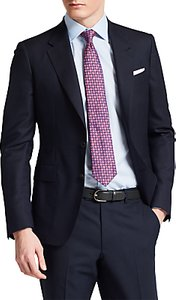 Read more about Thomas pink kensington wool slim fit blazer navy