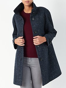Read more about John lewis janet swing textured coat navy