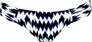 Read more about Watercult nomadic beach bikini briefs blue multi