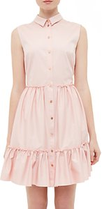 Read more about Ted baker daikota sleeveless collared dress dusky pink