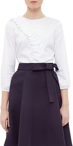Read more about Ted baker alasso frill detail blouse white