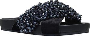 Read more about Kg by kurt geiger magnus cross strap sandals black