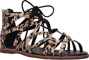 Read more about Kg by kurt geiger maisy multi strap sandals beige comb