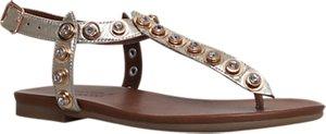 Read more about Carvela kave embellished t-bar sandals gold