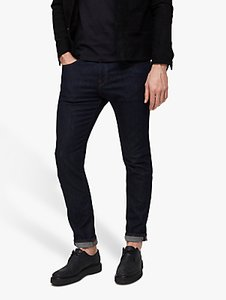 Read more about Selected homme leon slim jeans dark rinse