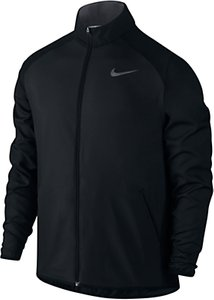 Read more about Nike dry training men s jacket black grey