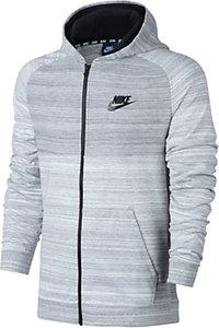 Read more about Nike sportswear advance 15 hoodie white black