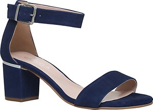 Read more about Carvela krisp block heeled sandals blue