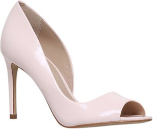 Read more about Carvela glaze high heel court shoes nude patent
