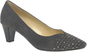 Read more about Gabor wide fit bathurst block heeled court shoes zinn