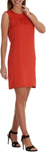 Read more about Betty co sleeveless shift dress red chilli