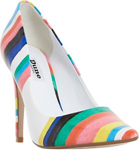 Read more about Dune brazil striped court shoes multi