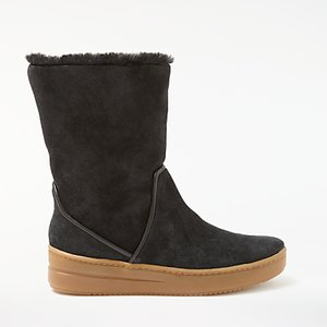 Read more about John lewis designed for comfort raven calf boots black suede