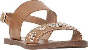 Read more about Dune luma embellished flat sandals