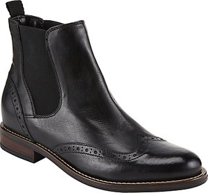Read more about John lewis opal brogue ankle chelsea boots nero