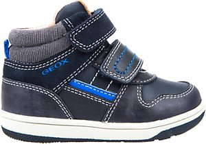 16316b9c0910 Read more about Geox children s b flick double riptape shoes navy royal blue
