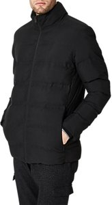 Read more about Selected homme funnel quilt jacket black