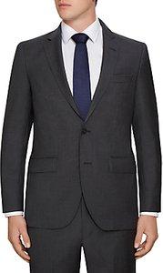 Read more about Hackett london wool semi plain regular fit suit jacket charcoal