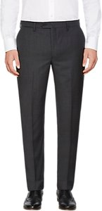 Read more about Hackett london wool semi plain regular fit suit trousers charcoal