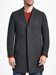 Read more about John lewis wool herringbone overcoat grey