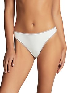 Read more about Elle macpherson body double skinz thong bright white