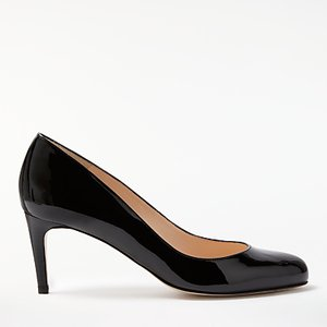 Read more about John lewis arna stiletto heeled court shoes black