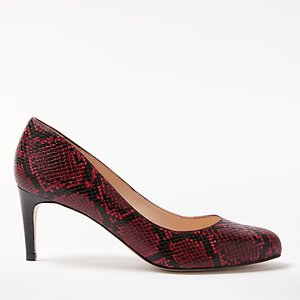 Read more about John lewis arna stiletto heeled court shoes red