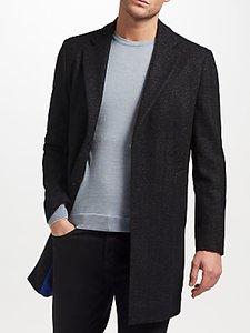 Read more about Kin by john lewis herringbone overcoat black
