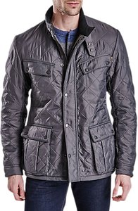 Read more about Barbour international ariel polarquilt jacket charcoal
