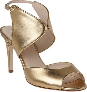 Read more about L k bennett cecilia formal stiletto heeled sandals gold