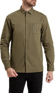 Read more about Lyle scott zip pocket shirt olive