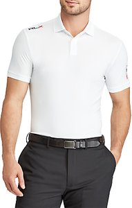 Read more about Polo golf by ralph lauren custom fit performance polo shirt pure white