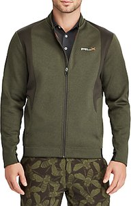Read more about Polo golf long sleeve jacket cypress heather