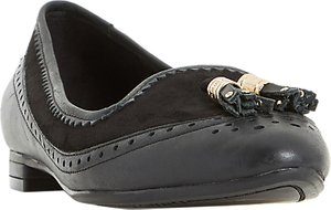 Read more about Dune gambel flat tassel loafers