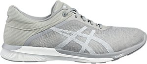Read more about Asics fuzex women s running shoes white silver