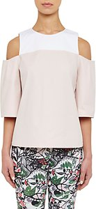 Read more about Ted baker colour by numbers divna cut out cold shoulder top nude pink