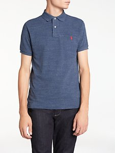 Read more about Polo ralph lauren slim fit polo shirt classic royal heather