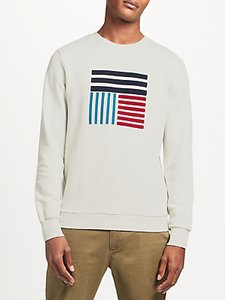 Read more about Kin by john lewis block graphic print sweatshirt cream
