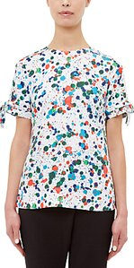 Read more about Ted baker lande paint splash print blouse ivory