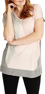 Read more about Studio 8 dawn jumper pink grey