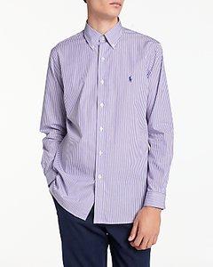 Read more about Polo ralph lauren long sleeve shirt multi lavender