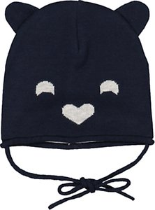 3855582bc4a77 Read more about Polarn o pyret baby bear hat navy