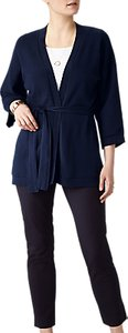 Read more about Pure collection kimono cardigan navy